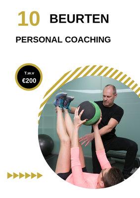 Voucher 10 beurten Personal Coaching