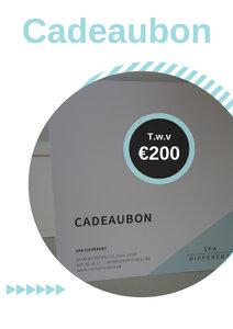 Cadeaubon van 200 euro