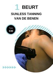 Sunless Tanning benen