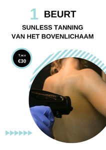 Sunless Tanning bovenlichaam